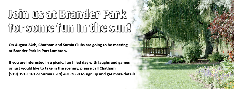 Join us at Brander Park, Port Lambton